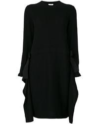 Robe en cachemire noire Fendi