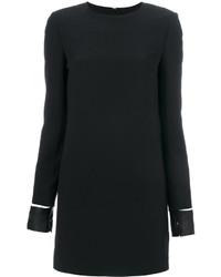 Robe en cuir noire Helmut Lang
