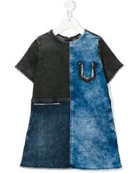 Robe en denim bleue Diesel