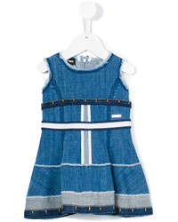 Robe en denim bleue DSQUARED2