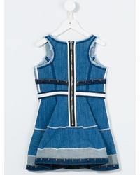 Robe en denim bleue DSQUARED2