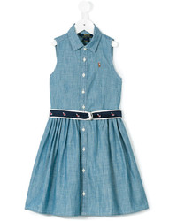 Robe en denim bleue Ralph Lauren