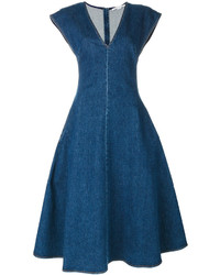 Robe en denim bleue Stella McCartney