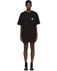 Robe en denim noire Marc Jacobs