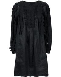 Robe en dentelle noire Isabel Marant