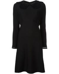 Robe en laine noire Marc Jacobs