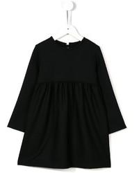 Robe en laine noire