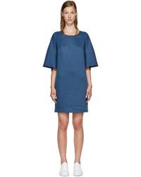 Robe en lin bleue 3.1 Phillip Lim