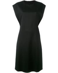 Robe en soie noire Jil Sander