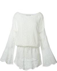 Robe en tricot beige Chloé