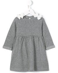 Robe en tricot grise