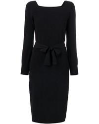Robe en tricot noire A.P.C.