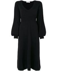 Robe en tricot noire Chloé