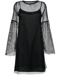 Robe en tulle noire MM6 MAISON MARGIELA