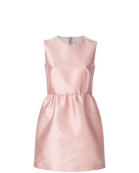 Robe évasée en satin rose RED Valentino