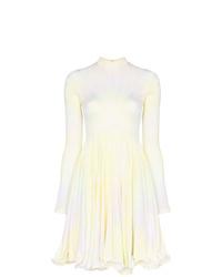 Robe évasée imprimée tie-dye multicolore Stella McCartney