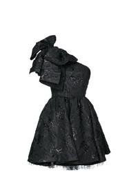 Robe évasée noire MSGM