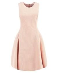 Robe évasée rose DKNY