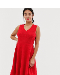 Robe évasée rouge Y.A.S Petite