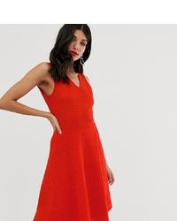 Robe évasée rouge Y.A.S Tall