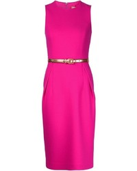 Robe fourreau fuchsia Michael Kors