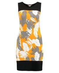 Robe fourreau imprimée orange Anna Field