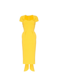 Robe fourreau jaune Stella McCartney