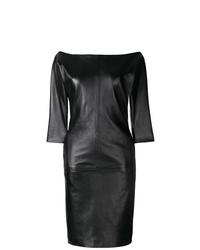 Robe fourreau noire Dsquared2
