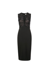 Robe fourreau pailletée noire Jason Wu Collection