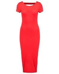 Robe fourreau rouge Even&Odd