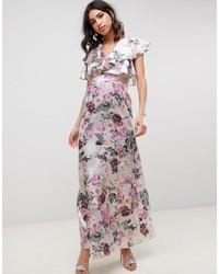 bfd330ede56 Acheter robe longue à fleurs blanche  choisir robes longues à fleurs ...