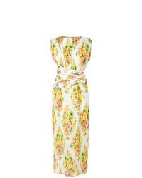 Robe longue à fleurs blanche Zimmermann