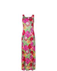 Robe longue à fleurs multicolore Ultràchic