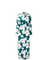Robe longue à fleurs vert foncé Equipment