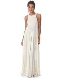 Robe longue blanche original 1399677