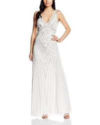 Robe longue blanche Frock and Frill