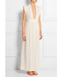 Robe longue blanche Isabel Marant