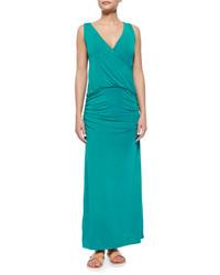 Robe longue bleue canard original 2782095