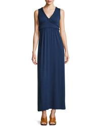 Robe longue bleue marine original 1398453