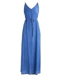 Robe longue bleue Denham