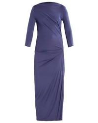 Robe longue bleue Vivienne Westwood