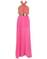 Robe longue fuchsia Choies