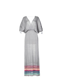 Robe longue grise Cecilia Prado