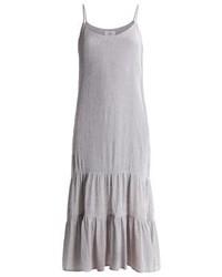 Robe longue grise Minimum