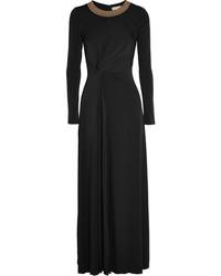 Robe longue noire MICHAEL Michael Kors