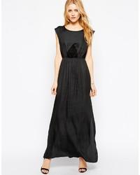 Robe longue noire Vila