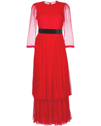 Robe longue rouge Gucci