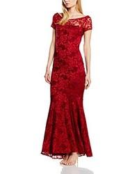 Robe longue rouge HotSquash