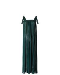 Robe longue vert foncé Adriana Degreas