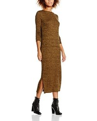 Robe marron Vero Moda